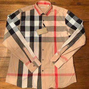 Burberry Brit Long Sleeve Men's Shirt